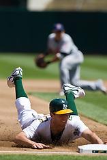 20100424 - Cleveland Indians at Oakland Athletics (Major League Baseball)
