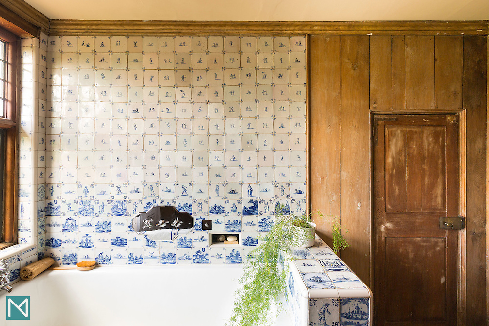 The Ireton Bathroom at Packwood House, for iWant Design and National Trust