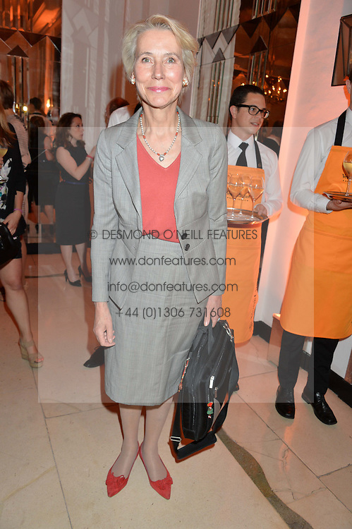 BARONESS BOTTOMLEY at the Veuve Clicquot Business Woman Awards held at Claridge's, Brook Street, London on 11th May 2015.