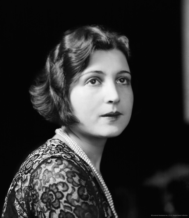 Claire Rommer, actress, 1927
