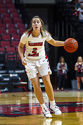NORMAL, IL - October 30: Maya Wong during a college women's basketball game between the ISU Redbirds and the Lions on October 30 2019 at Redbird Arena in Normal, IL. (Photo by Alan Look)