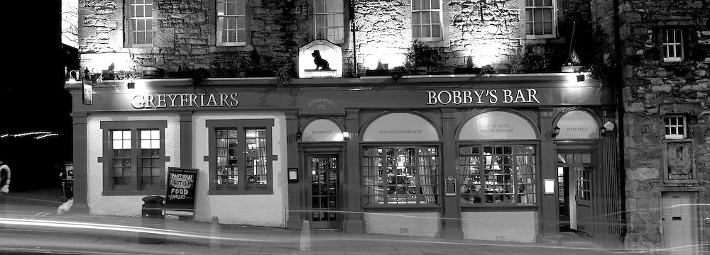 Greyfrairs Bar - Edinburgh next to Greyfriars Kirk