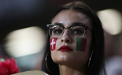 October 10, 2017 - Lisbon, Portugal - Portugal supporter during the FIFA 2018 World Cup Qualifier match between Portugal and Switzerland at the Luz Stadium on October 10, 2017 in Lisbon, Portugal. (Credit Image: © Carlos Costa/NurPhoto via ZUMA Press)