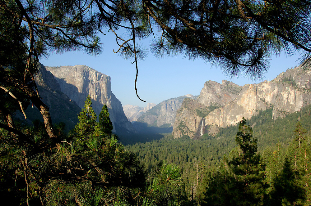Yosemite Valley view, Yosemite National Park, California, United States of America
