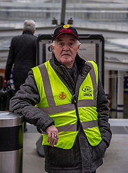 Gerry McCann (72) retired from Ayr Branch of the RMT was  there to support workers who followed him into the industry<br />