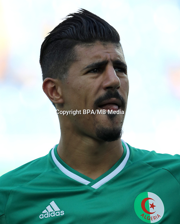 Fifa Men´s Tournament - Olympic Games Rio 2016 - <br /> Algeria National Team -  <br /> Baghdad BOUNEDJAH