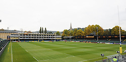 General view of the Recreation Ground, Bath.  - Mandatory byline: Alex Davidson/JMP - 07966 386802 - 17/10/2015 - RUGBY - The Recreation Ground - Bath, England - Bath Rugby v Exeter Chiefs - Aviva Premiership