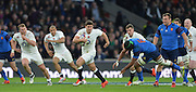 Twickenham, Great Britain, Ben YOUNGS breaking during the  Six Nations Rugby England vs France, played at the RFU Stadium, Twickenham, ENGLAND. <br /> <br /> Saturday   21/03/2015<br /> <br /> [Mandatory Credit; Peter Spurrier/Intersport-images]