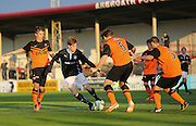 Dundee's Craig Wighton takes on the Dundee United defence - Dundee v Dundee United, SPFL Development League at Gayfield, Arbroath<br /> <br />  - &copy; David Young - www.davidyoungphoto.co.uk - email: davidyoungphoto@gmail.com