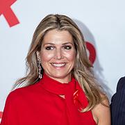 NLD/Amsterdam/20180516 - Koningspaar bij Red Ribbon Concert, Koningin Maxima