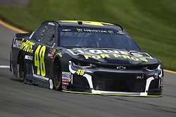 June 1, 2018 - Long Pond, Pennsylvania, United States of America - Jimmie Johnson (48) brings his car through the turns during practice for the Pocono 400 at Pocono Raceway in Long Pond, Pennsylvania. (Credit Image: © Chris Owens Asp Inc/ASP via ZUMA Wire)