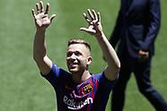 Presentation of Arthur Melo to FC Barcelona - 12 July 2018