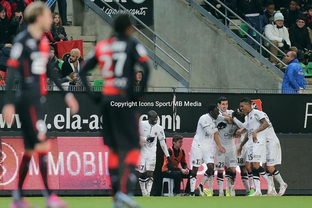 Damien DA SILVA  - 25.01.2015 - Rennes / Caen  - 22eme journee de Ligue1<br />Photo : Vincent Michel / Icon Sport