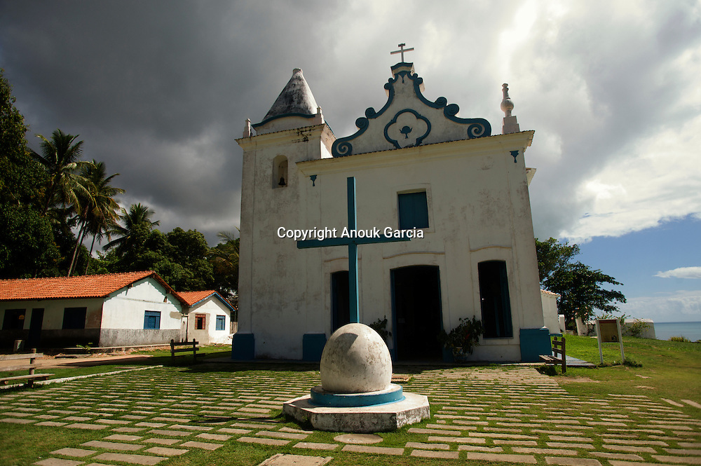 Eglise de Nossa senhora da Conceic?a?o construite au XVII°sie?cle///Church of Nossa will senhora da Conceic?a?o built in XVII°century.