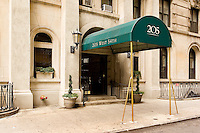 Entrance at 205 West 54th Street