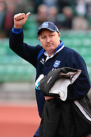 Brighton and Hove Albion Manager Russell Slade <br /> Brighton and Hove Albion vs Yeovil Town at the Withdean Stadium Brighton. Coca Cola Football League One. 14/03/2009<br /> Credit Colorsport / Shaun Boggust
