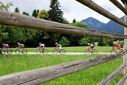 Riders during 44th Grand Prix Kranj - Filip Majcen Memorial 2011, UCI Cat. 1.1 (177,3 km) cycling race, on July 2, 2011, in Srednja Bela, Slovenia. (Photo by Vid Ponikvar / Sportida)