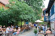 Stumpfs Hof in Altkötzschenbroda, Radebeul, Sachsen, Deutschland.|.Altkötzschenbroda, Radebeul, Dresden, Saxony, Germany.