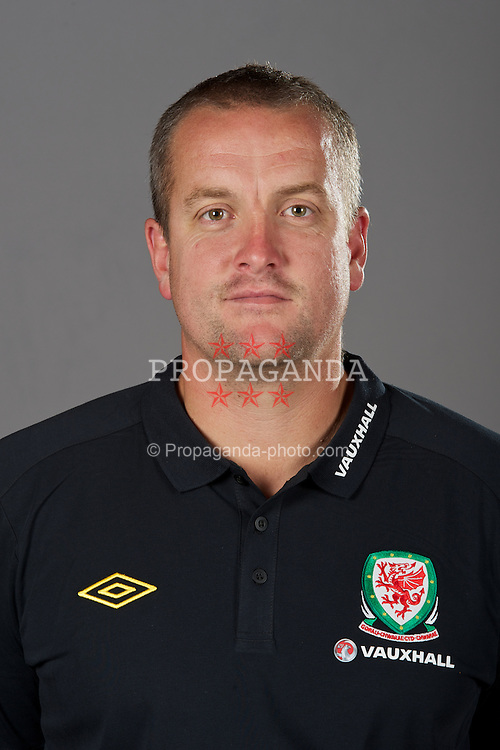 NEWPORT, WALES - Tuesday, August 30, 2011: Wales' goalkeeping coach Martyn Margetson. (Pic by David Rawcliffe/Propaganda)