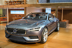 Volvo Concept Coupe plu in hybrid at Tokyo Motor Show 2013 in Japan