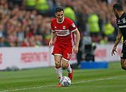 Stewart Downing of Middlesbrough  during the EFL Sky Bet Championship match between Middlesbrough and Aston Villa at the Riverside Stadium, Middlesbrough, England on 12 May 2018. Picture by Paul Thompson.