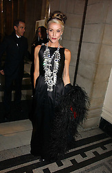 DAPHNE GUINNESS at the British Fashion Awards 2006 sponsored by Swarovski held at the V&A Museum, Cromwell Road, London SW7 on 2nd November 2006.<br />