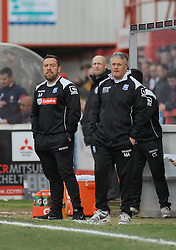 Tranmere Rovers Manager, Micky Adams - Photo mandatory by-line: Nizaam Jones - Mobile: 07966 386802 - 28/02/2015 - SPORT - Football - Cheltenham- Whaddon Road - Cheltenham Town v Tranmere Rovers - Sky Bet League Two