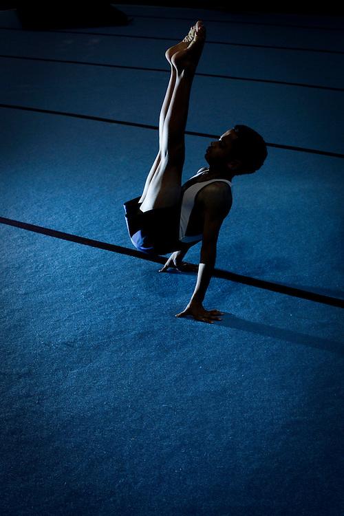 Belo Horizonte_MG, Brasil..Treinamento de Ginastica Olimpica no Minas Tenis Clube em Belo Horizonte, Minas Gerais...Gymnastics Training at Minas Tenis Club in Belo Horizonte, Minas Gerais... Foto: BRUNO MAGALHAES / NITRO