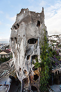 "Outside architecture of ""The Crazy House"", Da Lat, Vietnam, Souhteast Asia"