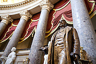 The Samuel Jordan Kirkwood statue in National Statuary Hall in the United States Capitol building in Washington, D.C. on Thursday, June 23, 2011.
