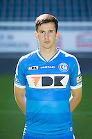 Gent's Marko Poletanovic pictured during the 2015-2016 season photo shoot of Belgian first league soccer team KAA Gent, Saturday 11 July 2015 in Gent.