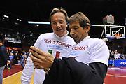 DESCRIZIONE : Milano Final Eight Coppa Italia 2014 Finale Montepaschi Siena - Dinamo Banco di Sardegna Sassari<br /> GIOCATORE : Federico Pasquini - Bruno Perra<br /> CATEGORIA : Ritratto Esultanza<br /> SQUADRA : Dinamo Banco di Sardegna Sassari<br /> EVENTO : Final Eight Coppa Italia 2014 Milano<br /> GARA : Montepaschi Siena - Dinamo Banco di Sardegna Sassari<br /> DATA : 09/02/2014<br /> SPORT : Pallacanestro <br /> AUTORE : Agenzia Ciamillo-Castoria / Luigi Canu<br /> Galleria : Final Eight Coppa Italia 2014 Milano<br /> Fotonotizia : Milano Final Eight Coppa Italia 2014 Finale Montepaschi Siena - Dinamo Banco di Sardegna Sassari<br /> Predefinita :