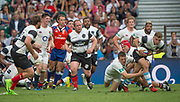 Twickenham, Surrey, United Kingdom. Action, during the, Old Mutual Wealth Cup, England vs Barbarian's match, played at the  RFU. Twickenham Stadium, on Sunday   28/05/2017England    <br /> <br /> [Mandatory Credit Peter SPURRIER/Intersport Images]