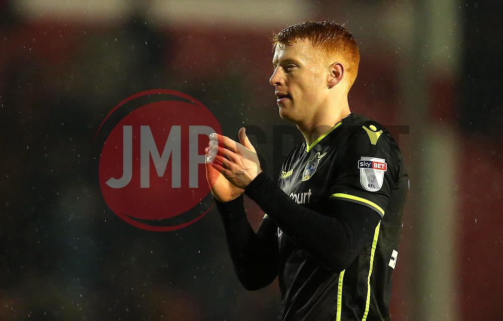 Rory Gaffney of Bristol Rovers - Mandatory by-line: Robbie Stephenson/JMP - 26/12/2017 - FOOTBALL - Banks's Stadium - Walsall, England - Walsall v Bristol Rovers - Sky Bet League One
