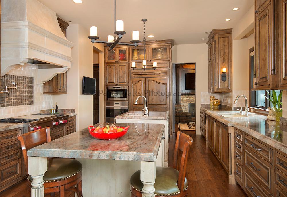 Custom Classic Kitchen with Wolfe/Sub Zero Appliances