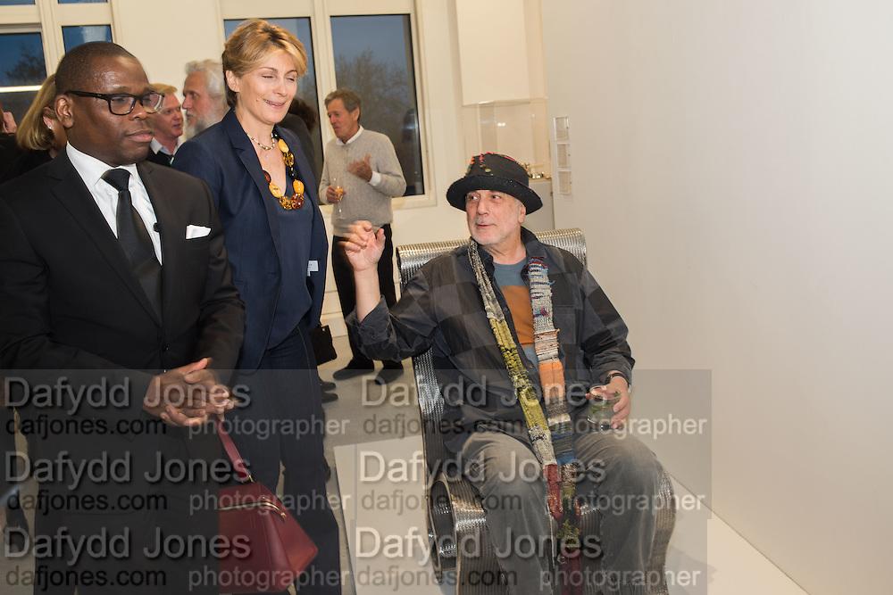 MARYAM SACHS; RON ARAD;  TIME FOR DESIGN, Design Museum benefit. Phillips building, Berkeley Sq. London. 21 April 2016