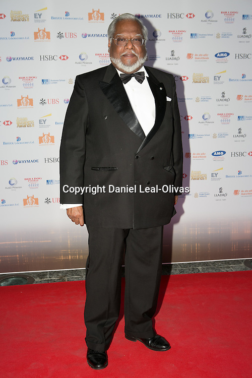 Asian Rich List Gala. Nirj Deva attends the annual ceremony which recognises the country\'s richest Asians. Figures compiled by the Eastern Eye newspaper. Park Plaza Hotel, London, United Kingdom. Friday, 11th April 2014. Picture by Daniel Leal-Olivas / i-Images
