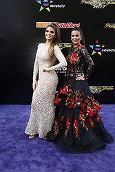 HOLLYWOOD, CA - NOVEMBER 09: Ana Barbara and Edith Marquez(R) attend the 18th edition of 'Los Premios de la Radio' held at the Dolby Theater on November 09, 2017 in Los Angeles, California. Byline, credit, TV usage, web usage or linkback must read SILVEXPHOTO.COM. Failure to byline correctly will incur double the agreed fee. Tel: +1 714 504 6870.