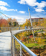 Liberty Bridge at Falls Park - Downtown Greenville, SC