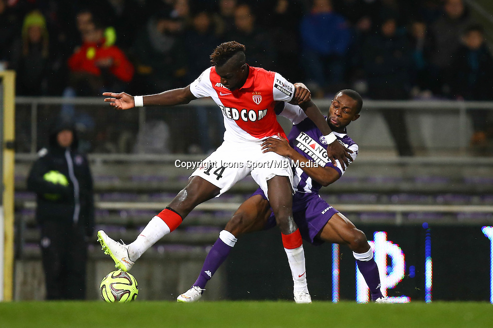 Tiemoue Bakayoko - 05.12.2014 - Toulouse / Monaco - 17eme journee de Ligue 1 -<br />