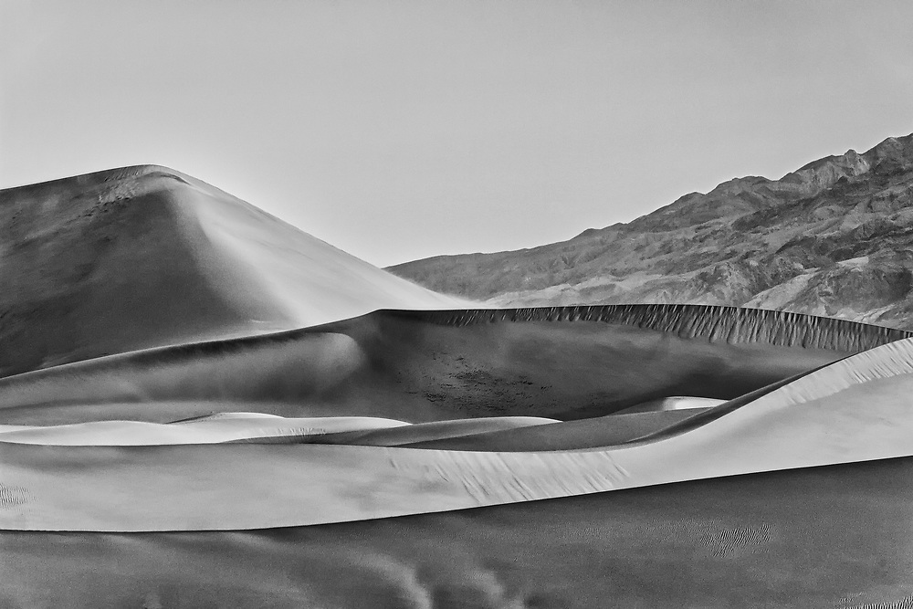 Dunes of Death Valley National Park, CA.