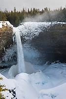 Helmcken Falls in winter, Wells Grey Provincial Park British Columbia Canada