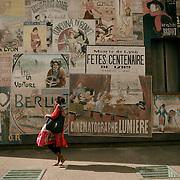 Lyon, France, July 2015. Quartier des Etats-Unis, Mus&eacute;e Urbain Tony Garnier.<br /><br />Lione, Francia, Luglio 2015. Quartier des Etats-Unis, Mus&eacute;e Urbain Tony Garnier.