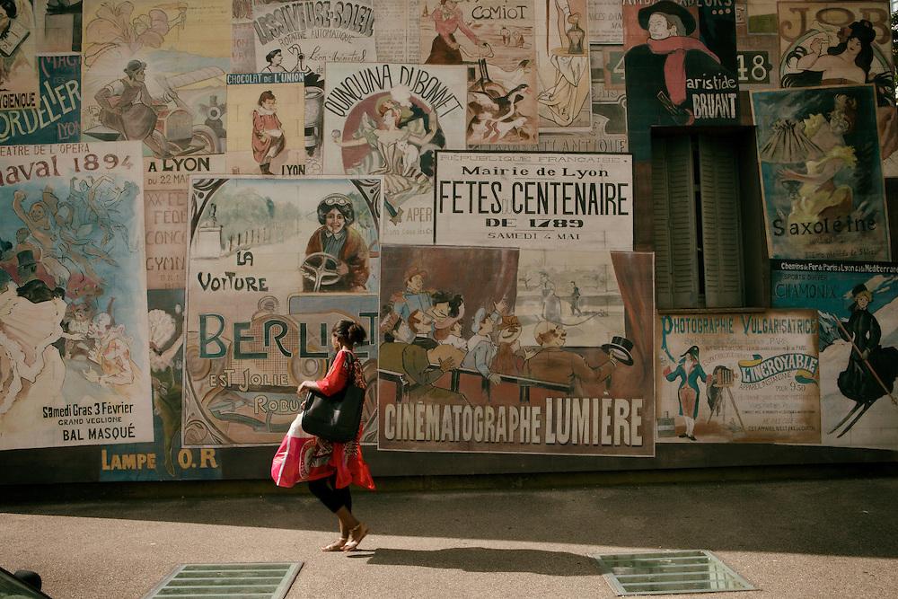 Lyon, France, July 2015. Quartier des Etats-Unis, Musée Urbain Tony Garnier.<br /><br />Lione, Francia, Luglio 2015. Quartier des Etats-Unis, Musée Urbain Tony Garnier.