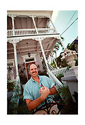 The owner of the Artist House Bed and Breakfast. Key West on the southern-most tip of Florida is a popular tourist destination, with a very different vibe to it than Miami.