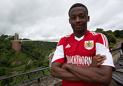 Kevin Krans of Bristol City - Photo mandatory by-line: Kieran McManus/JMP - Tel: Mobile: 07966 386802 31/07/2013 - SPORT - FOOTBALL - Avon Gorge Hotel - Clifton Suspension bridge - Bristol -  Team Photo