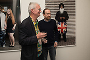 MARTIN PARR; SIMON BAKER Opening of the Martin Parr Foundation party,  Martin Parr Foundation, 316 Paintworks, Bristol, BS4 3 EH  20 October 2017