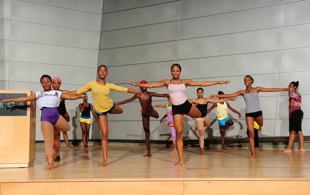 (photo by Matt Roth).Friday, June 18, 2010..Inertia Performing Arts' Spring Concert at MICA's Falvey Hall in the Brown Center...Movement Foundations, T1, T2, T3, Student Company, Inertia Conservatory.
