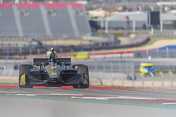 February 12, 2019 - Austin, Texas, U.S. - MARCUS ERICSSON (7) of Sweeden  goes through the turns during practice for the IndyCar Spring Test at Circuit Of The Americas in Austin, Texas. (Credit Image: © Walter G Arce Sr Asp Inc/ASP)