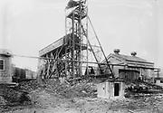 Marianna, PA. mine disaster, wrecked tipple November 30, 1908